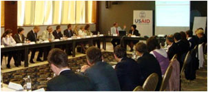 H.E. Patrick S. Moon, U.S. Ambassador to Bosnia and Herzegovina, at the USAID 3E Kick-off Workshop