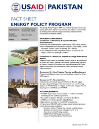 USAID's Energy Policy Program (EPP) - Click to enlarge